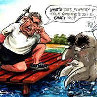 "Flipper; Darling has been accused of ""flipping"" his main house in order to claim extra expenses. Meanwhile, Brown appears paranoid that Darling is after his job."