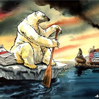 Copenhagen Bear; The scientist who convinced the world to take notice of the looming danger of global warming says it would be better for the planet and for future generations if next week's Copenhagen climate change summit ended in collapse. One wonders what the polar bears think of that?