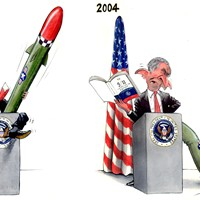 Bush Missile Dysfunction; Bush's creative reading of pre-war Iraq from the CIA got him all fired up and ready for night-time emissions in 2002. The 9/11/ Commission Report in 2004, giving a negative appraisal of his use of intelligence on Iraq, was probably not such an aphrodisiac for the Priapic Pres' in 2004.